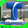 Advertising custom T text inflatable replica decoration for sale