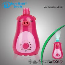 Wood Used Commercial Animal Shaped Ultrasonic Air Bottle Cap Humidifier