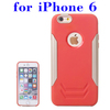 Creative Design 2 in 1 Pattern TPU and Aluminum Cell Phone Case for iPhone 6 Made in China