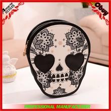 2015 Wholesale China cheap PU Lady Skull Hand Fashion Bag,Designer pu Skull Women Hand Bags,Lady Hand Bag