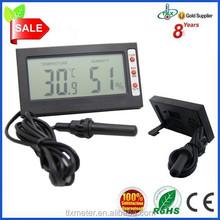 DTH-06 LCD desktop thermometer hygrometer, reptile thermometer hygrometer, gift thermometer hygrometer
