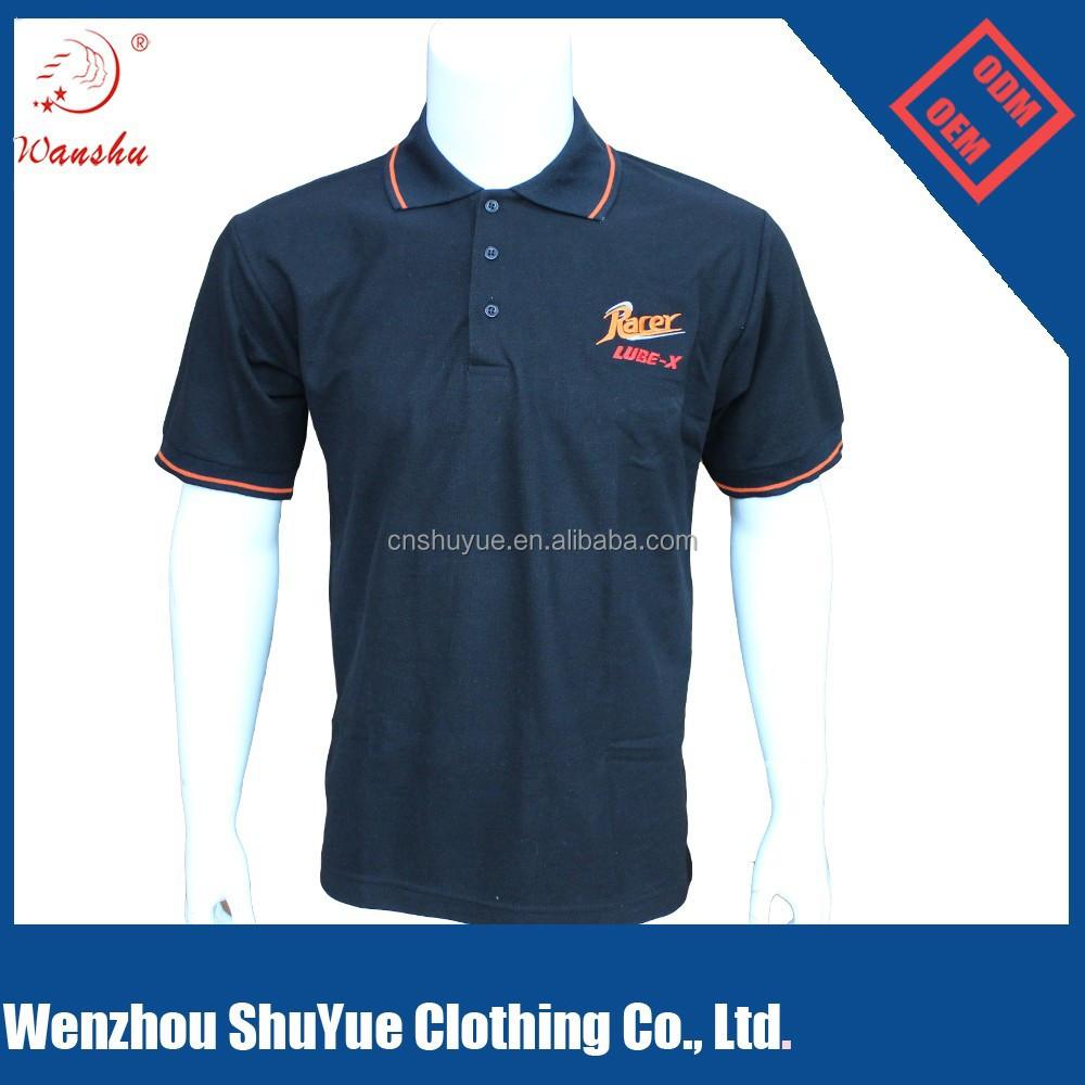 Polo shirts with embroidered custom logo philippines for Work polo shirts embroidered