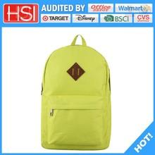 audited factory wholesale price superb pvc school bag