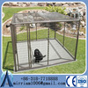 classic galvanized outdoor dog kennel /iron fence dog kennel/dog kennel fence panel