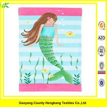 Custom Microfiber Towel Printed Six Girl Beach Blanket Size 70*140CM