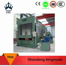 mdf melamine press machine/hydraulic double sided laminate hot press machine/particle board laminated press line