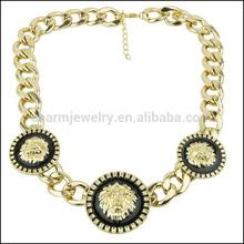 Atacado sn141 chunky colar declaração na china, 2014 mulheres moda jóias artesanais encantos colar