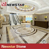 Newstar luxury tile round mosaic medallion floor patterns