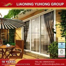 2015 popular residential used double glass energy effective sliding door