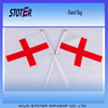 Hot sale shaking stick hand flag Various different sizes of hand flag