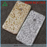 New design TPC with PC gold foil silver foil case cover for iphone 6/6 plus