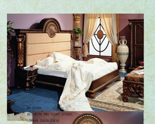 modern wooden bedroom furniture set/antique bedroom sets inlay/canopy bedroom sets