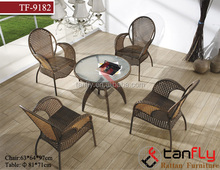 Strong dining room furniture comfortable rattan chair