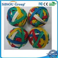 kids high bouncing rubber band ball