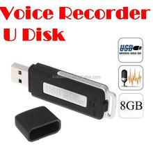 Mini 8GB USB Pen Flash Drive Voice Recorder Pen Digital Audio Voice Recorder