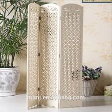 Plegable impermeable mampara para decoración de interiores