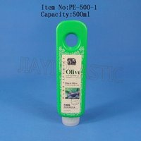 plastic bath wash shower gel bottle