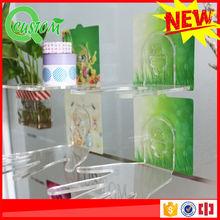 3d silica gel decals durable decorative design plastic shelf