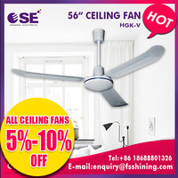 foshan shining ip55 55w ultra quiet ceiling fan for sri lanka