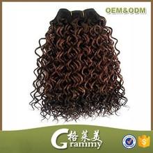 Hot selling fashionable hair styles coarse yaki hair extension