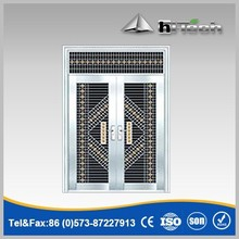 Cheapest New Design High-quality Double Leaf Stainless Steel Door