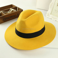 custom made fedora hat, ladies cheap wool hat,Fashion felt hat