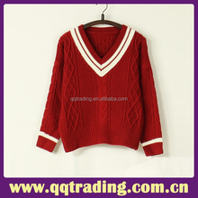China cheap manufacturer fashion couple pullover sweater designs of woolen pure sweater