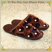 100% Cotton Hotel Spa Slippers Lovers Sandals(HJCQ1007)