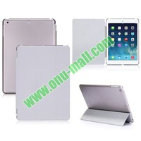 2 In 1 Combo Smart Magnetic Front Leather Smart Cover for iPad Air With Hard PC Back Case