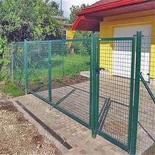 50x100mm powder coated temporary frame fence