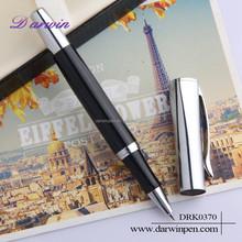 Customized logo high quality aluminum roller ball pen