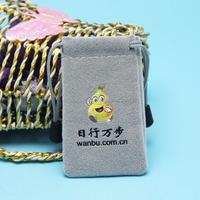 custom velvet drawstring eco friendly pouch bag