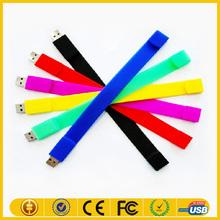 bracelet rubber flash drive wrist usb flash drive fashionable silicone bracelet usb flash drive