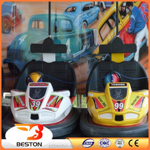 antique!china manufacturer used mini battery power 12/24/48V bumper car/dodgem car with the music for sale