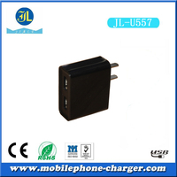 wholesale cheap price 2 port usb power adapter 5V 1A 2A dual usb wall charger