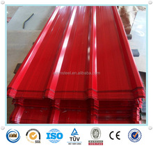 Manufacture from China kinds RAL colors zinc corrugated metals roofing sheet