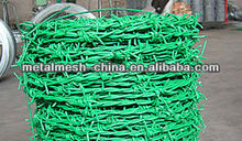Barbed wire/PVC single strand barbed wire(galvanized,plastic coated,plastic sprayed)
