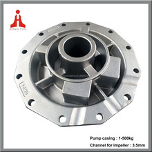 Machined centrifugal water pump end front cover shell parts