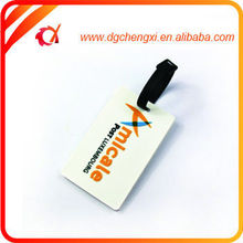 2015 new product Durable prevent pvc luggage tag wholesale
