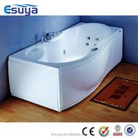 Large ABS Plastic big size bathtub square bathtub indor massage bathtub