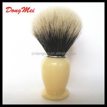 high mountain white badger shaving brush,acrylic handle mens shaving brush wholesale , badger hair hot new shave brush in 2015