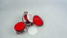 30g Red Acrylic Cosmetic Jar