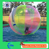 0.7mm tpu crazy inflatable water toys, hollow plastic toys ball for sale