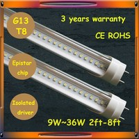 Efficiency 2500lm 150cm 24w xxx aminal video led tube lighting