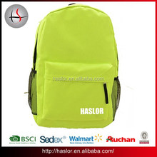 2015 Polyester backpack school book bag for high students