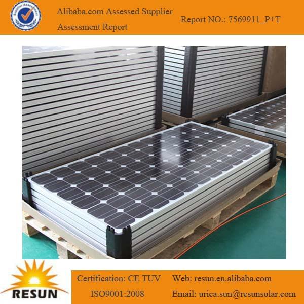 Hot vente 280 W panneau solaire à vendre fabricant en chine avec TUV certificat cei