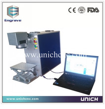 Easy operation hot sale10w fiber laser marking machine price