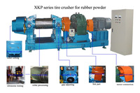 XKP-560 highly advanced Crumb waste tire making rubber powder machine