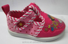 Baby cute fashion casual canvas injection shoes 2015 style reason price