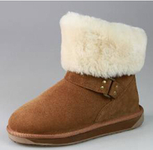 Plush Boot For Snow
